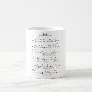 Layla Chords Coffee Mug