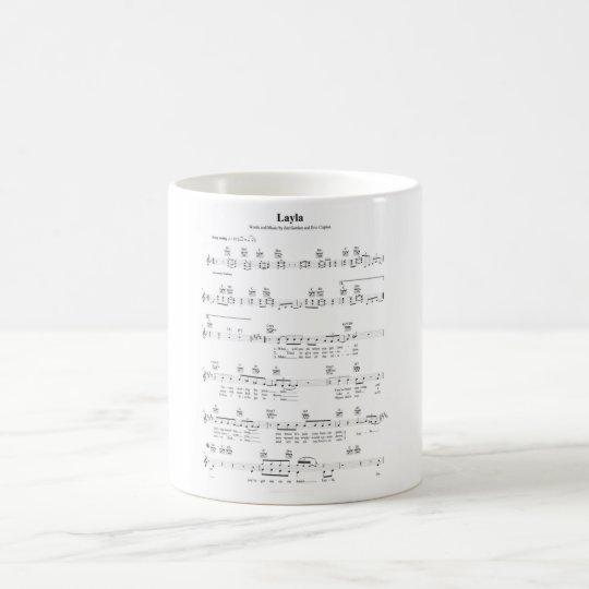 Layla Chords Coffee Mug | Zazzle.com