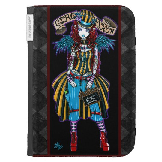 Layla Circus Sideshow Angel Kindle Case
