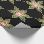 Layla Magical Snowflake Victorian Christmas Wrapping Paper