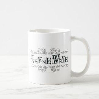 Layne Wrye logo black letter Coffee Mug
