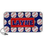 Layne's Baseball Doodle Travelling Speaker