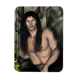 Layric Satyr Pagan Fantasy Pin Up Magnet