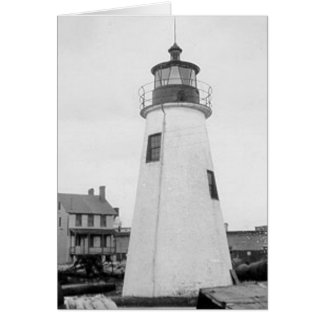 Lazaretto Point Lighthouse Card
