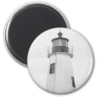 Lazaretto Point Lighthouse Fridge Magnets