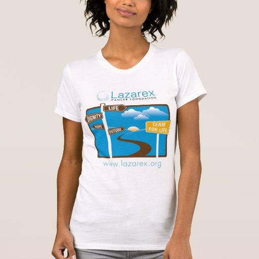 Lazarex: Equipo para la vida Camisetas