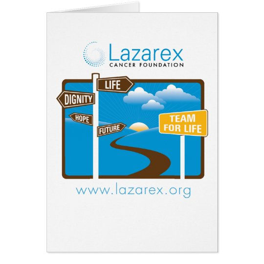 Lazarex: Team for Life Card