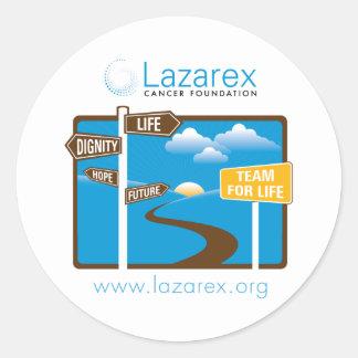 Lazarex: Team for Life Classic Round Sticker