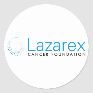 Lazarex: Traditional Logo Classic Round Sticker