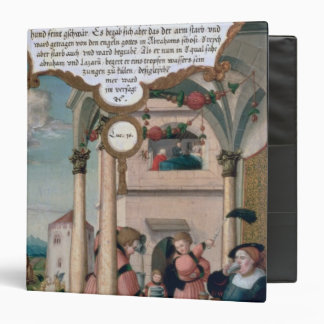 Lazarus and the Rich Man's Table 3 Ring Binder