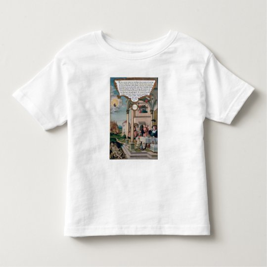 Lazarus and the Rich Man's Table Toddler T-shirt