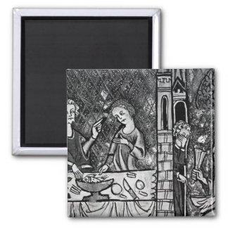 Lazarus at the rich man s gate refrigerator magnets