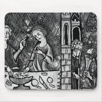 Lazarus at the rich man's gate mouse pad