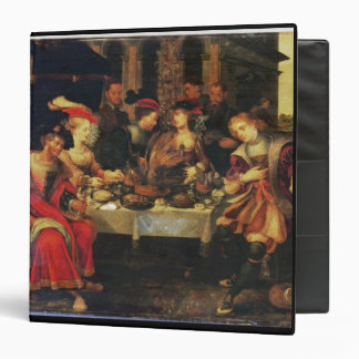 Lazarus at the Rich Man's Table, 1618 (oil on canv Binder