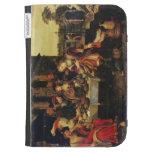 Lazarus en la tabla del hombre rico, 1618 (aceite