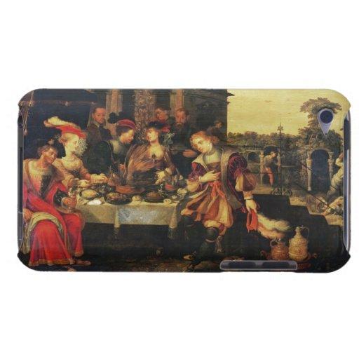 Lazarus en la tabla del hombre rico, 1618 (aceite cubierta para iPod de barely there