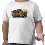 Lazarus en la tabla del hombre rico, 1618 (aceite camiseta