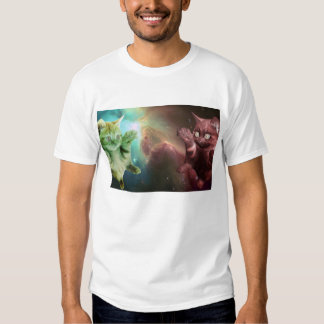 Lazer Body Kittens in Space T-Shirt
