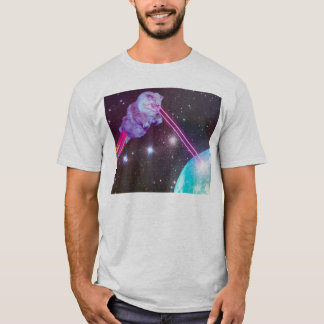 LAZER KITTY DEATH BEAM T-Shirt