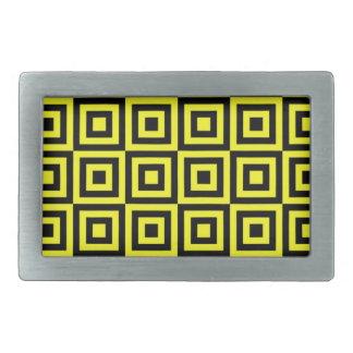 Lazer Lemon Tiles Belt Buckle