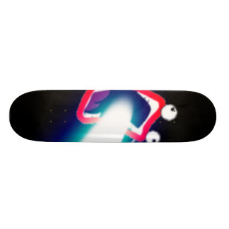 lazer skateboard deck