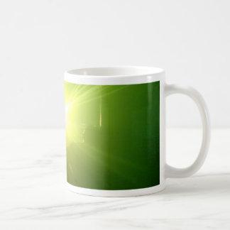 Lazerz verde tazas