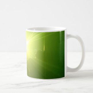 Lazerz verde taza