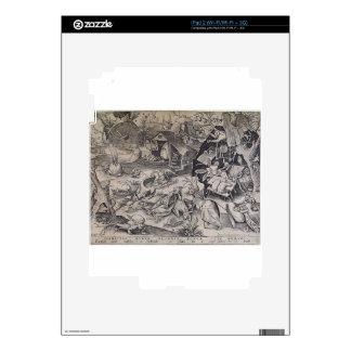 Laziness by Pieter Bruegel the Elder Skin For iPad 2