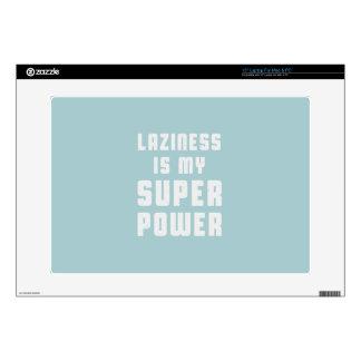Laziness is my superpower laptop decals