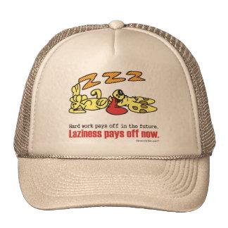 Laziness Pays Off Trucker Hat