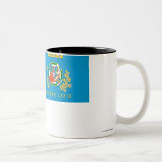 Lazio flag coffee mug