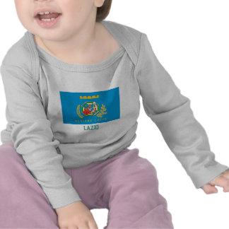 Lazio flag with name t-shirts