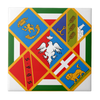 Lazio (Italy) Coat of Arms Ceramic Tiles
