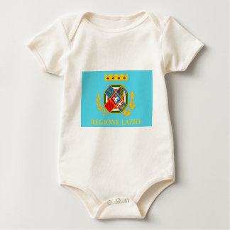 Lazio (Italy) Flag Baby Creeper