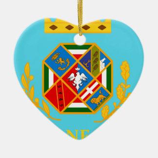 Lazio (Italy) Flag Ceramic Ornament