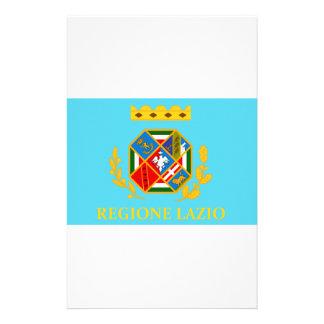 Lazio (Italy) Flag Custom Stationery