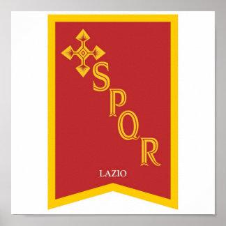 lazio Italy Poster