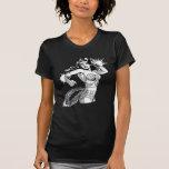 Lazo 2 de la Mujer Maravilla B&W Tee Shirts