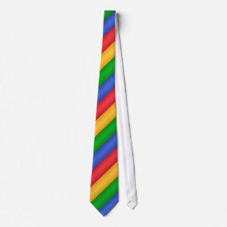 Lazo #2 de los colores de Google Corbata