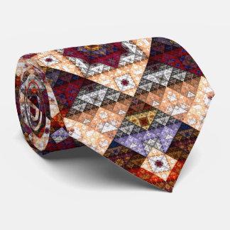 Lazo abstracto bohemio del modelo corbatas