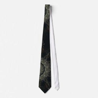 Lazo adaptado vestido con diseño negro corbata