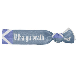 Lazo Alba del pelo de Gu Brath Escocia para siempr