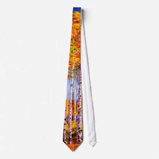Lazo alto de los álamos tembloses corbata personalizada