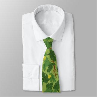 Lazo americano de Camo del verde de la hoja Corbatas Personalizadas