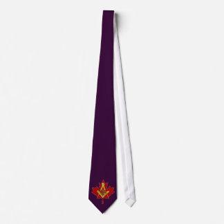 Lazo canadiense del albañil - negro corbata
