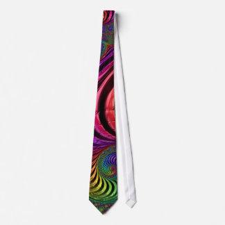 Lazo coloreado multi del fractal corbatas