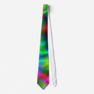 Lazo colorido de la abstracción corbatas personalizadas