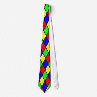 Lazo colorido de los diamantes corbata