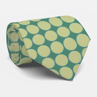 Lazo con diseño circular tejado corbata personalizada