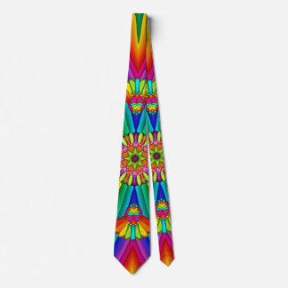 Lazo creativo colorido del carnaval del arco iris corbatas